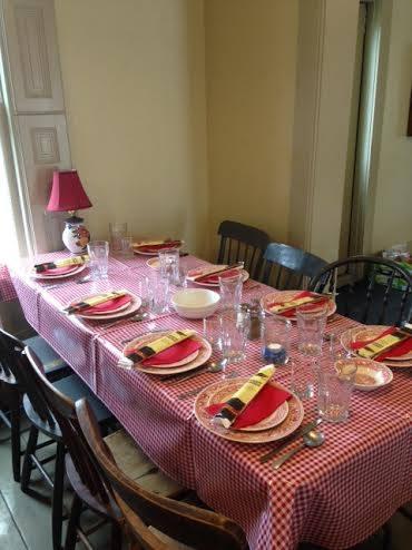 MCCC Table Setting
